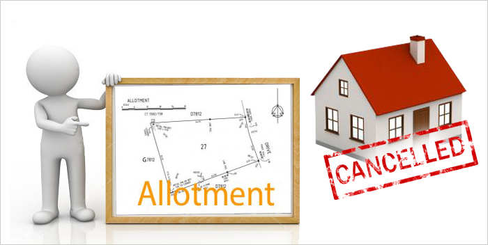 know cancellation process of property