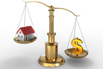 Home loan on property